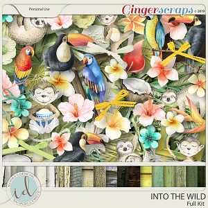 Into The Wild Full Kit by Ilonka's Designs