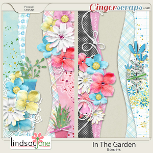 In The Garden Borders by Lindsay Jane