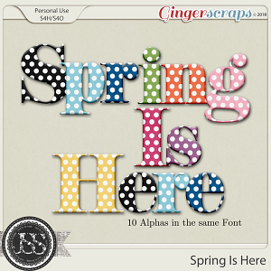 Spring Is Here Alphabets
