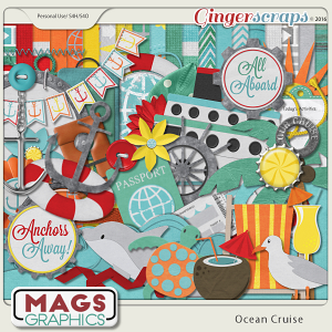 Ocean Cruise KIT by MagsGraphics