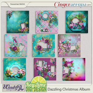 Dazzling Christmas Quick Page Album