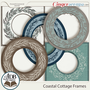 Coastal Cottage Frames by ADB Designs