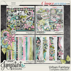 Urban Fantasy {Complete Collection} by Jumpstart Designs