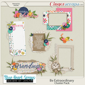 Be Extraordinary Clusters Pack