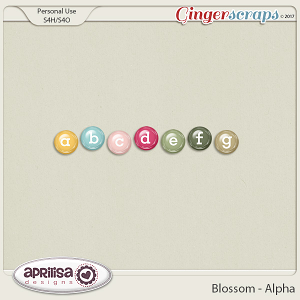 Blossom - Alpha by Aprilisa Designs