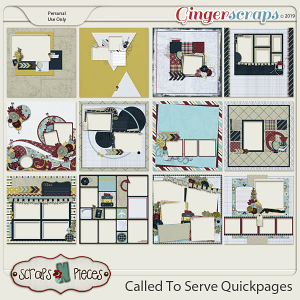 Called To Serve Quickpages by Scraps N Pieces