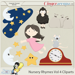 Doodles By Americo: Nursery Rhymes Vol 4 Cliparts