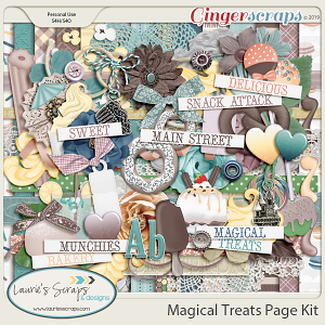 Magical Treats Page Kit