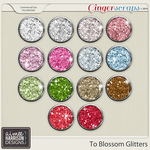 To Blossom Glitters by Aimee Harrison