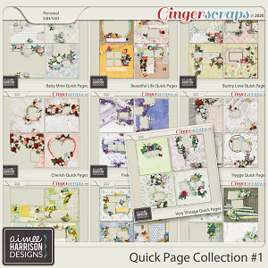 Quick Page Collection #1 by Aimee Harrison