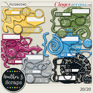 20/20 ACCENTS by Heather Z Scraps