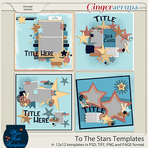 To The Stars Templates by Miss Fish Templates