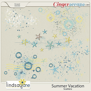 Summer Vacation Scatterz by Lindsay Jane