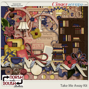 Take Me Away {Collab Kit} by Trixie Scraps and Connie Prince