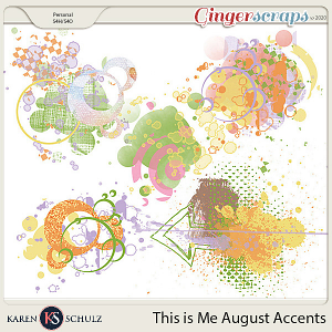 This is Me August Accents by Snickerdoodle Designs