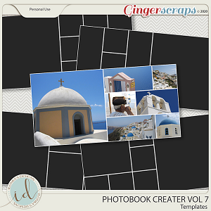 Photobook Creater Vol 7 by Ilonka's Designs