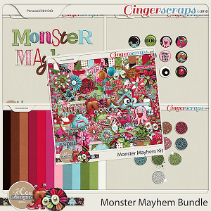 Monster Mayhem Bundle by JoCee Designs