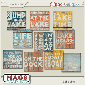 Lake Life JOURNAL CARDS 1