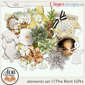 The Best Gifts Elements Set 1 by ADB Designs