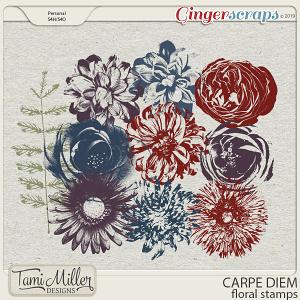Carpe Diem Floral Stamps by Tami Miller Designs