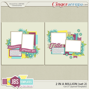 Two In A Million Templates 2 by JB Studio