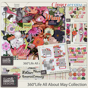 360°Life All About May Collection by Aimee Harrison