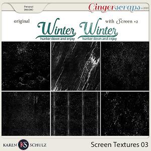 Screen Textures 03 by Karen Schulz