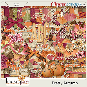 Pretty Autumn by Lindsay Jane