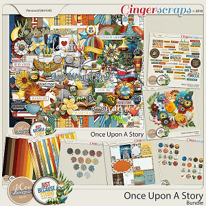 Once Upon A Story Collab - Bundle by JB Studio and Jocee Designs