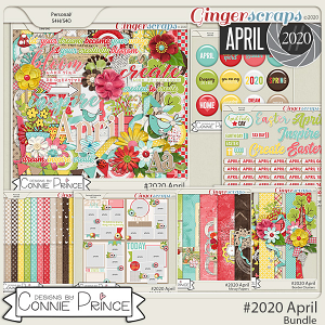 #2020 April - Bundle Collection by Connie Prince