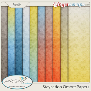 Staycation Ombre Papers
