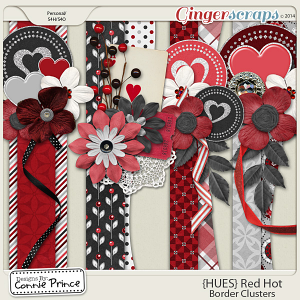 {HUES} Red Hot - Border Clusters