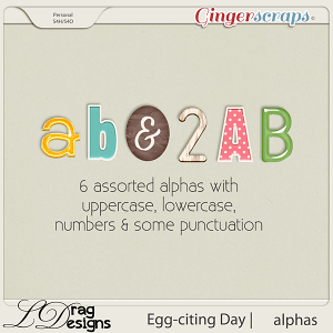 Egg-citing Day:Alphas by LDragDesigns