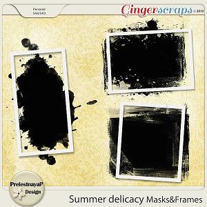 Summer delicacy Masks&Frames