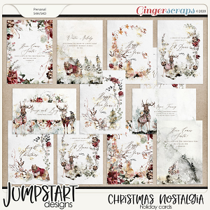 Christmas Nostalgia {Holiday Cards}