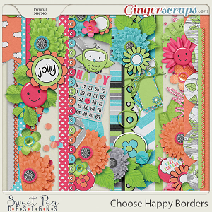 Choose Happy Borders