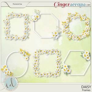 Daisy Frames by Ilonka's Designs