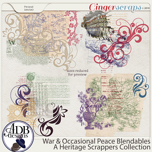 War and Occasional Peace Blendables by ADB Designs