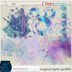 Magical Nights Graffiti Add On by Miss Fish and Shepherd Studios