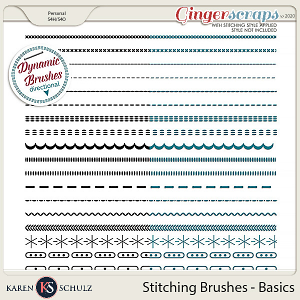 Stitching Brushes Basics by Karen Schulz