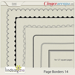 Page Borders 14 by Lindsay Jane