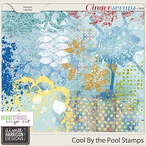 Cool By the Pool Stamps by Aimee Harrison and HSA