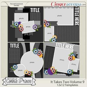 It Takes Two Volume 9 - 12x12 Temps (CU Ok)
