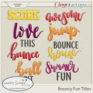 Bouncy Fun Titles