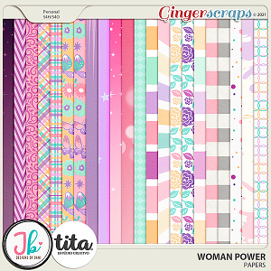Woman Power Papers by JB Studio and Tita