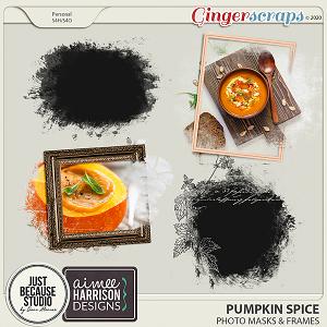 Pumpkin Spice Masks by JB Studio and Aimee Harrison Designs