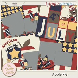 The Cherry On Top:  Apple Pie Templates