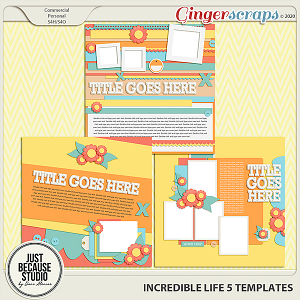 Incredible Life 5 Templates By JB Studio