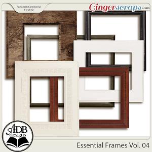 Essential Frames Vol 04 by ADB Designs