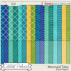 Mermaid Tales - Extra Papers by Connie Prince